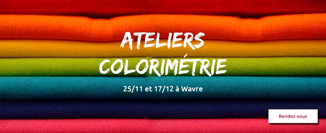 Ateliers colorimétrie Wavre