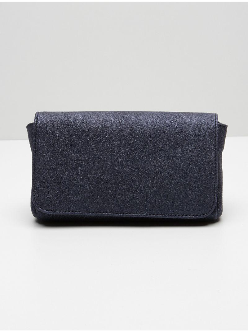 Petite pochette pailletée - Bleu