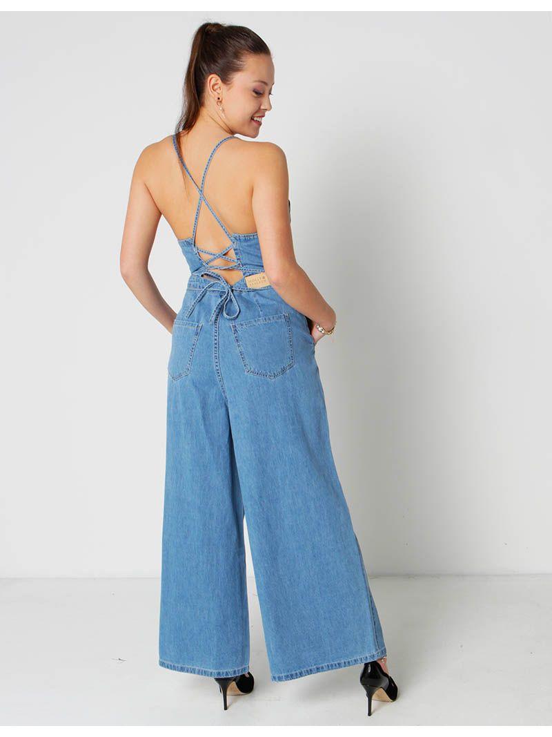 Combinaison en jean - bleu jean