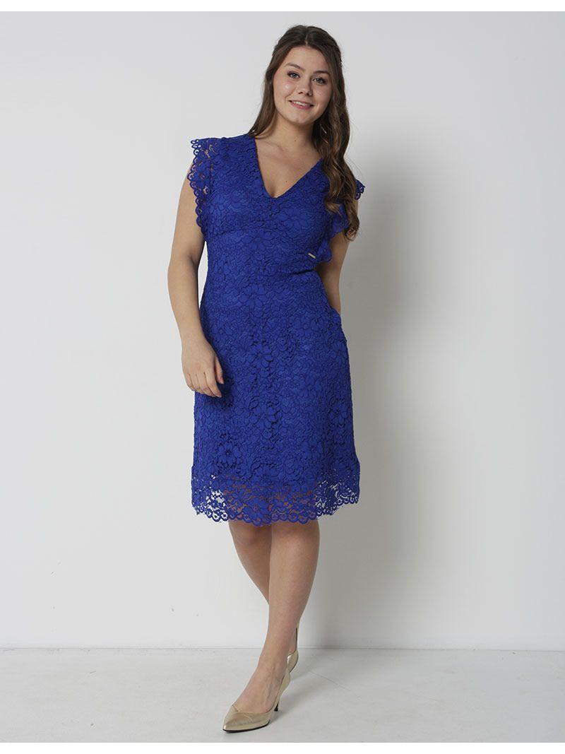 54e04f2c719c1f Kant jurk -koningsblauw