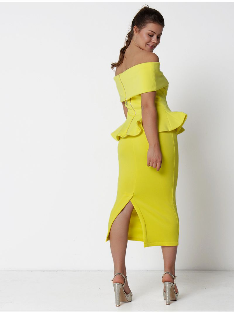 Robe 2 pièces - jaune
