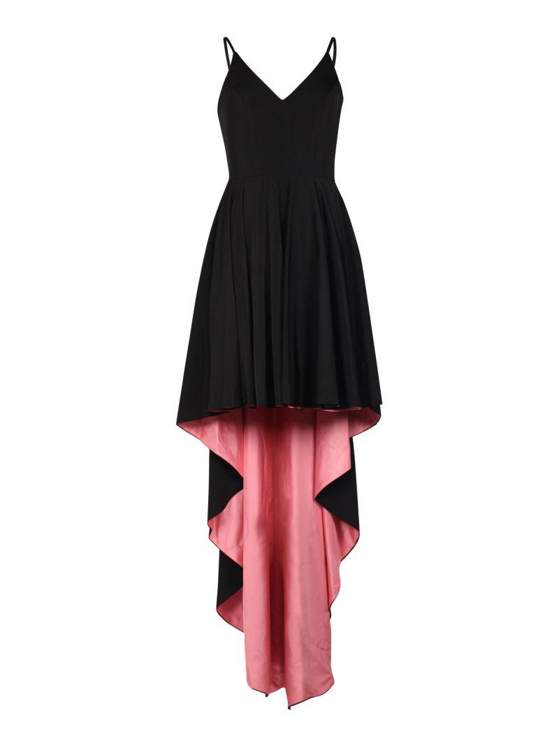 jurk met lange achterkant