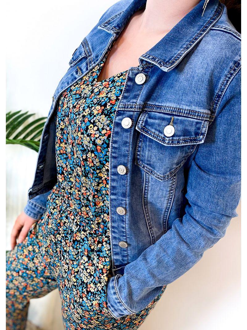 Veste en jeans - Bleu