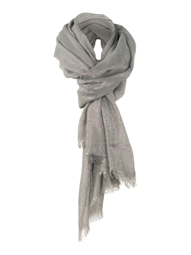 Foulard brillant bronze