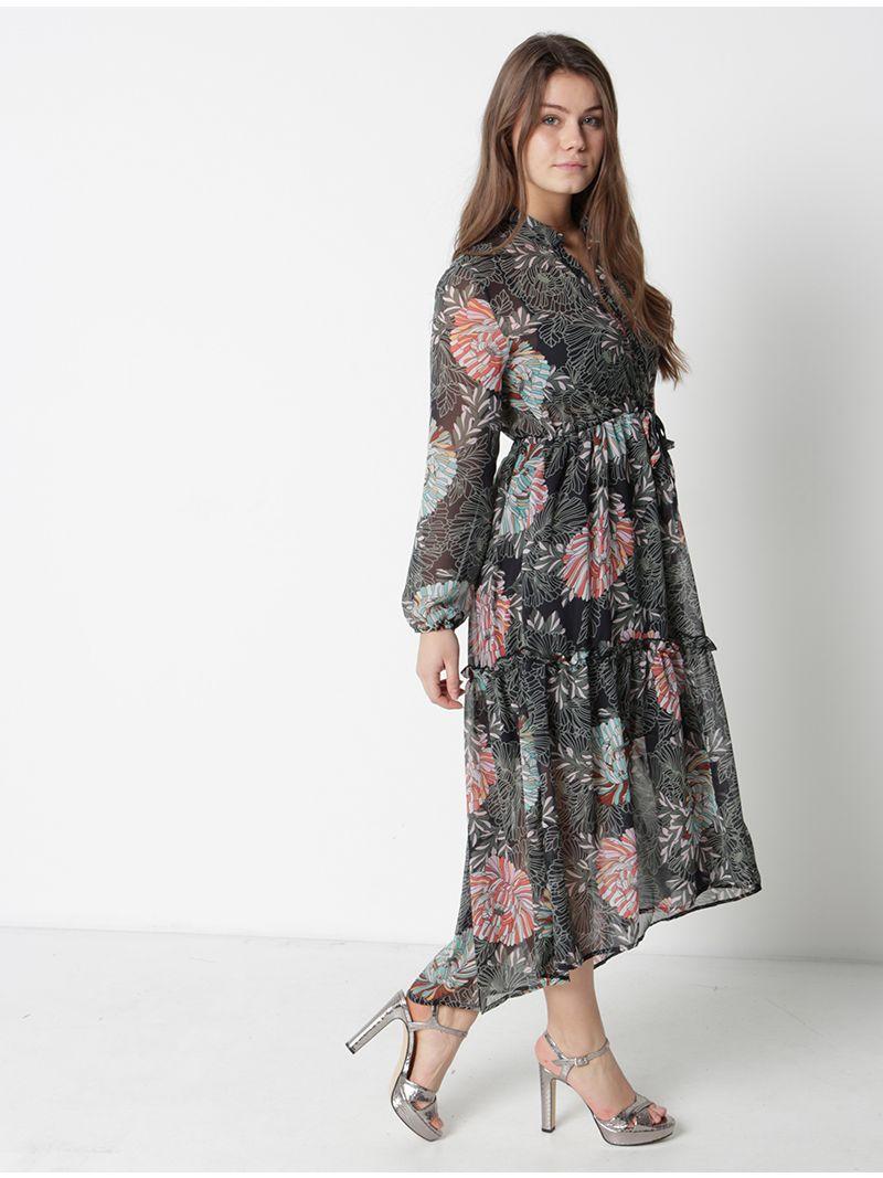 Robe babydoll fleurie