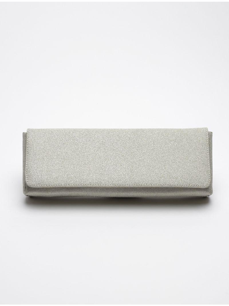Pochette rectangulaire à paillettes