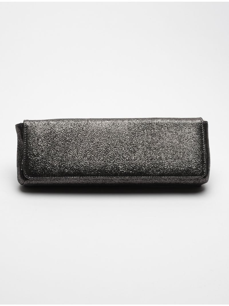 d90eaa6e55 Pochette rectangle longue brillante