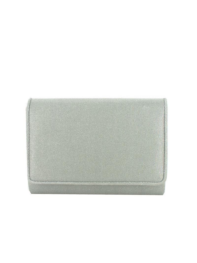 Pochette rectangulaire avec paillettes