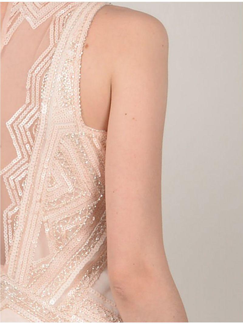 Robe Longue Avec Paillettes En Style Gatsby Anne Sophie