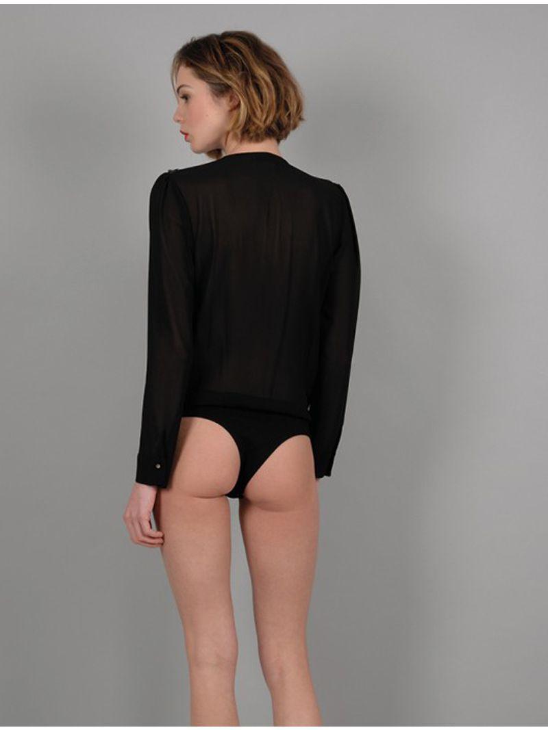 Body débardeur avec des épaulettes à strass