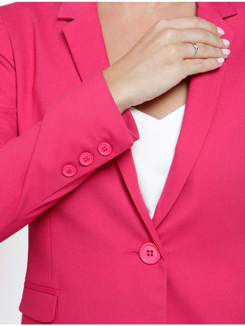 Blazer à bouton - Fuchsia
