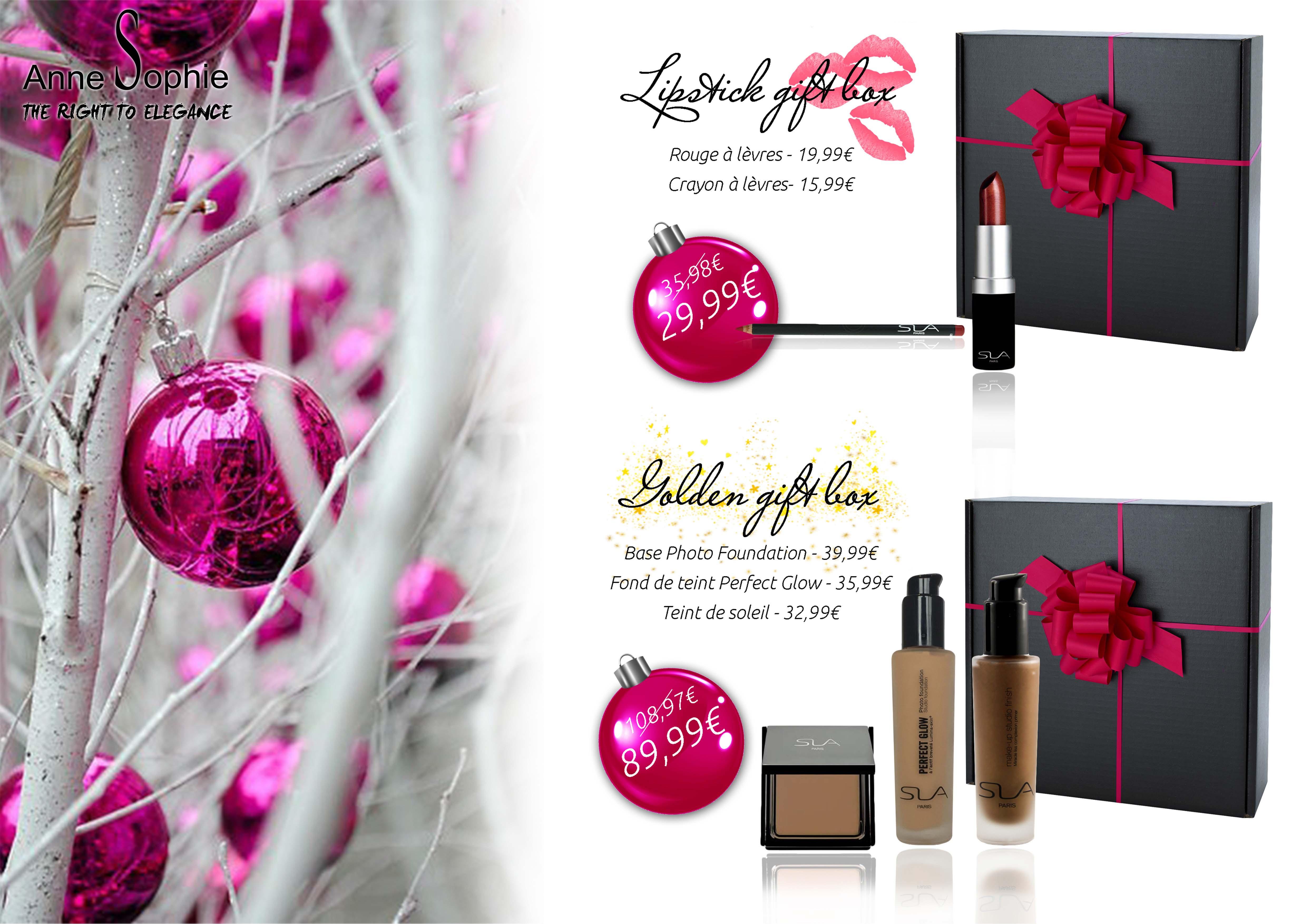 Box maquillage pour les f tes 2015 anne sophie - Maquillage pour les fetes ...