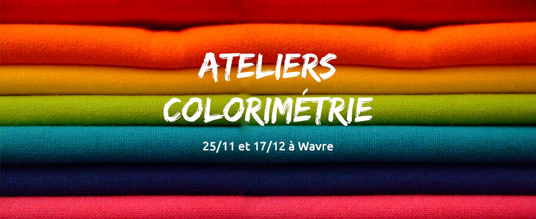 ateliers colorimétrie wavre 2017