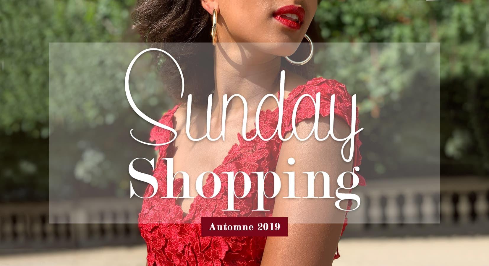 Dates et horaires ouverture dimanche robes de soirée